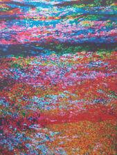 Reflets lithographie ??? signature Fresco