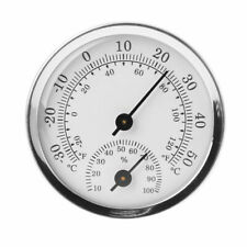 Weather Station Analog Wall Mounted Temperature Humidity Thermometer&Hygrometer