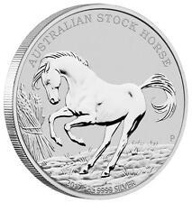 1 onza de plata Australian bastón Horse 2017 australia 1 AUD