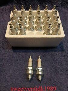 (2)....'NOS' Harley-Davidson 3-4 Spark Plugs...Panhead, Shovelhead