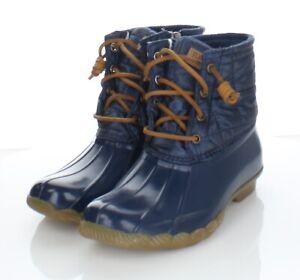 66-14 $120 Women's Sz 6 M Sperry Syren Gulf Waterproof Lace Up Duck Boot