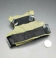 "1:6 PMC OD Green Body Armor Vest 12"" GI Joe Dragon BBI Dam Hot Toys"