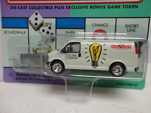 Johnny Lightning ELECTRIC COMPANY Utility GMC Van MONOPOLY