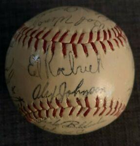 1965 PHILADELPHIA PHILLIES Facsimile Autographed Baseball ALLEN CALLISON SHORT