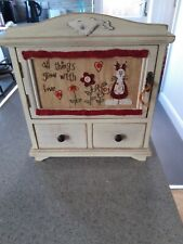 Cute Vintage Style Small Cabinet