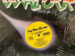 """Lil Suzy Take Me In Your Arms 12"""" 1991 HIGH POWER WAR-109 Freestyle SHRINK"""