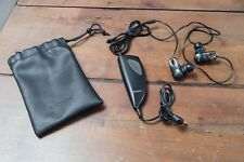 Sony MDR-NC10 In-Ear Only Headphones - Black Earbuds Noise Cancelling