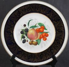 Vintage Porcelain Solian Ware Simpsons Potters Cobridge Gold Gilt Dinner Plate