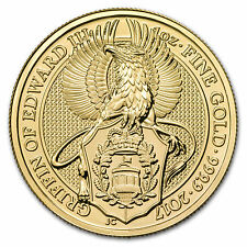 2017 Great Britain 1 oz Gold Queen's Beasts The Griffin - SKU #104273