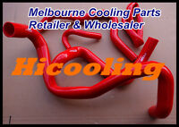 Red silicone radiator heater hose for FORD FALCON BA BF 5.4L V8