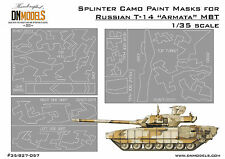 775e1e3635c5 Splinter Camo Paint Masks for Russian T-14 Armata MBT 1 35 by DN