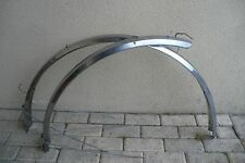 Garde boue 700 inox acier 4.0 cm  Peugeot Motobecane stainless steel mudguard