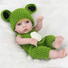 "10"" Realistic Newborn Baby Infant Silicone Reborn Dolls Toy Kids Toys"