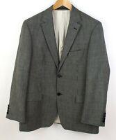 HUGO BOSS Herren Bertolucci 100% Wolle Formelle Jacke Blazer Größe 52 ACZ786