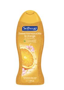 Softsoap Sweet Honeysuckle & Orange Peel Body Wash, 20 FL. OZ.