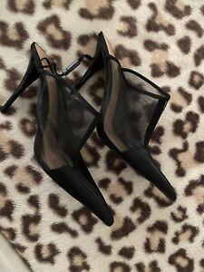 Zara Mesh Heels Size 9 Brand New