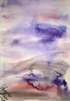 Malerei PAINTING zeichnung Margarita Bonke Landscape Landschaft Aquarell A3 art