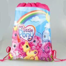 MY LITTLE PONY DRAWSTRING LIBRARY SCHOOL SWIMMING KINDER BOOK BAG BIRTHDAY LOLLY