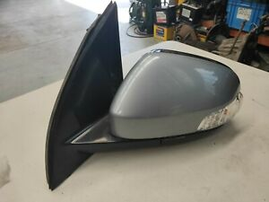 FORD + FPV FG FG2 FGX LH MIRROR WITH INDICATOR COLOUR SILK GENUINE USED
