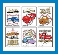 12 Disney Cars Movie Temporary Tattoos Party Favors