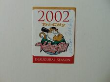 """Tri-City Valley Cats"" Mark McLemore Signed 2002 Game Schedule Todd Mueller COA"