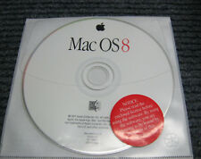 Mac OS 8 CD (Mac 1997) Apple Macintosh Operating System CD-ROM OS 8.0