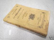 NOTIONS D HISTOIRE DE LA PHILOSOPHIE FRANCISQUE BOUILLIER 1896 rousseurs *