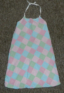 Youth Girls Cotton Gymboree Multicolor Casual Spring Summer Heltar Dress Size 9