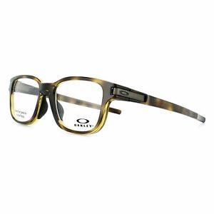 Oakley Glasses Frames Latch SS Trubridge OX8114-02 Polished Brown Tortoise 50mm