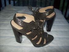 Coach Moreen Women Platform Shoes Size US 9  Bronze
