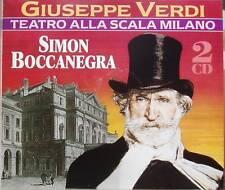 2CD Verdi Simon Boccanegra Abbado Teatro alla Scala DG