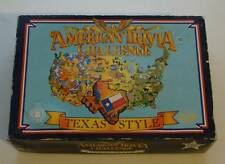 Vintage 1985 Texas Style American Trivia Challenge Brought by Pepsi and Pta