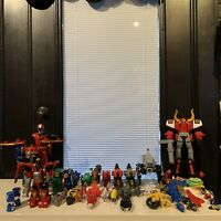 Power Rangers Megazord Lot Ninja Steel Bullzord Gosei Great Dino Samurai + Parts
