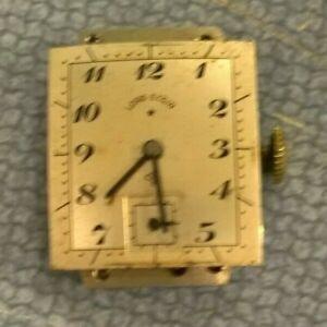 Lord Elgin 559 21j Men's Wristwatch - Watchmaker Repair Parts