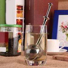 Neu Ball-Form Edelstahl Teeei Tee Gewürz Ei Sieb Filter Teesieb