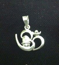 Great Quality 925 Sterling Silver Om / Aum Shivling / Lingam Pendent  For Gift