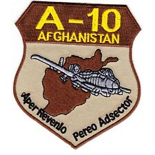 A-10 Thunderbolt II Ground Attack Aircraft USAF MILITARY PATCH