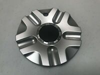 Ultra Custom Wheel Cap Blacked Out Center/Sparkle Silver Finish A89-9403S
