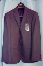 """New Mens Luxury Marks and Spencer Tailored Fit Charcoal Jacket Size 38"""" Medium"""