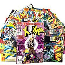 Uncanny X-Men 15 Comic Book Lot Marvel VF Copper Age Havok Storm Bishop Forge