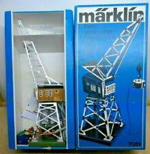 Märklin H0 7051 Remote Controlled Crane With Excavator Shovel Spotless Tested Ob