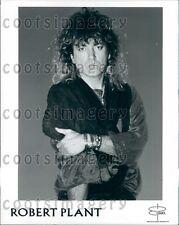 1993 Rock Music Icon Singer Robert Plant Led Zeppelin Press Photo