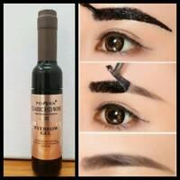 Tattoo Brow Easy Peel off Tint Gel Eyebrow Peel Long Lasting Make up Dark Brown