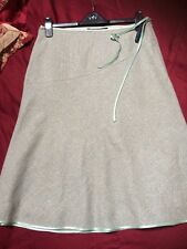 BODEN Skirt Wool/Silk Size 14L Excellent Condition