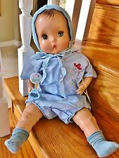"Vintage Horsman 1937 Rare Brother Baby Doll Composition 21"" Horseman Boy Antique"