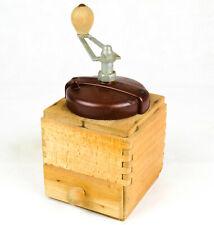 Macino caffe VINTAGE PEUGEOT FRERES Coffee Grinder Manual Hand Crank GROS/FIN