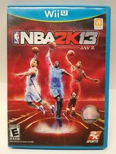 Amazing NBA 2K13 Nintendo Wii U complete, adult owned, zero scratches, Free Ship