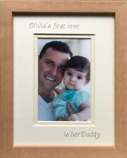 Personalised 1st Love Photo Frame Daddy Christmas Gift