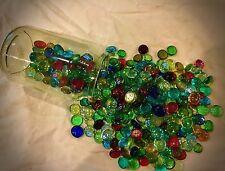 50 x vetro Misto Pietre Ciottoli Gemme Piastrelle Nuggets arte da bagno Pebble biglie