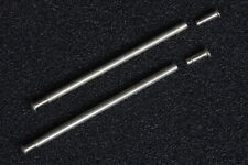 Stainless armband friction tube pin pins clasps straps bracelets rivet end 24mm